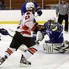 Salem: Beverly's Connor Irving beats Danvers goalie Seth Kamens with a wristshot for a goal on Friday. David Le/Salem News