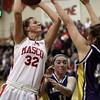 Topsfield: Masco's Brooke Stewart (32) drives through traffic and gets a layin basket. David Le/Salem News