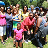 The Hector Family, of Salem, has been coming to the Annual Black Picnic at Salem Willows for over 100 years. David Le/Staff Photo