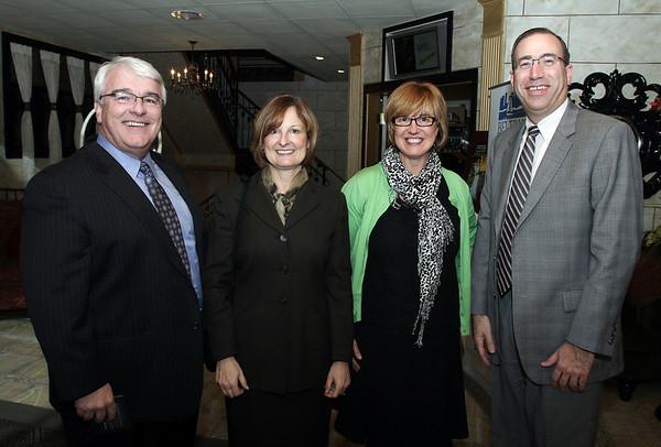 From left, Don Kelley, Tina McManus, Meg Kelley, and James Muse. David Le/Salem News