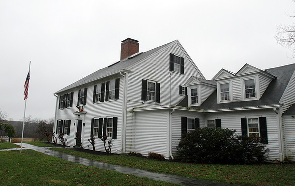 The house of Joanne Patton, widow of Major General George Patton, and daughter-in-law to the World War II General of the same name, has offered to donate her home and 27 acres of land to the town of Hamilton. David Le/Salem News