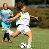 Peabody High School senior captain Cayla Bucci will look to anchor the Tanners defense during the 2012 season. David Le/Staff Photo