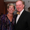 Patty MacLeod, left, and Russ Vickers, at the 100th Anniversary Celebration of the Salem Chamber of Commerce. David Le/Staff Photo