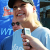 Middleton: Tennis superstar Anna Kournikova met with the media Monday evening before her tennis match for St. Louis Aces the against the Boston Lobsters at the Ferncroft Country Club in Danvers. Photo by David Le/Salem News