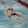 Toireasa Rafferty-Millett competes in the backstroke lap of the 200 IM. David Le/Salem News