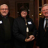 From left, Steven Immerman, Darcy Immerman, and Fran Mayo at the Salem Athenaeum Fundraiser held at the Adriatic Restaurant on Washington St. in Salem. David Le/Salem News