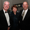 From left, Bruce and Heidi Whear, and Mark Cote, at the 100th Anniversary Celebration of the Salem Chamber of Commerce. David Le/Staff Photo