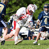 Masco senior Kurt Hunziker rushes to scoop up a loose ball against Needham on Wednesday afternoon. David Le/Staff Photo
