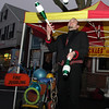 Beverly: Smyly the Juggler, performs one of his acts along Cabot St. on New Year's Eve. David Le/Salem News