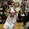 Masco junior Claudia Marsh goes up for a layup on Thursday night. David Le/Salem News