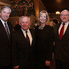 Congressman John Tierney, Beverly Mayor Bill Scanlon, Salem City Councilor Joan Lovely, and President of Monserrat College of Art Stephen Immerman, at Scanlon's inaugural ball at Danversport Yacht Club on Friday evening. David Le/Salem News.