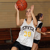 Peabody: Bishop Fenwick's Rose Fantozzi goes in for a layup at practice. David Le/Salem News