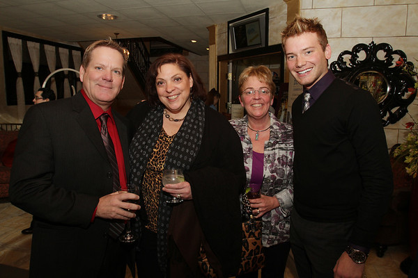 From left, Bill Hanney, Karen Nascemdeni, Carolyn Smith, and Matthew Goldberg, from the North Shore Music Theatre. David Le/Salem News