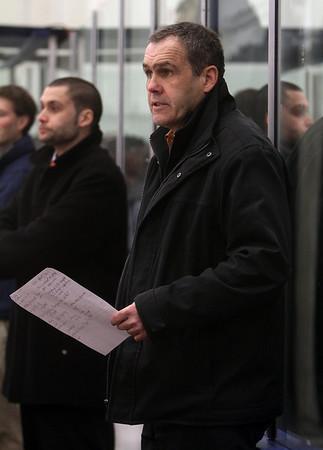 Salem State head coach Bill O'Neill. David Le/Salem News