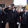 Peabody: Firefighters from all over the country came to pay their respects to firefighter Jim Rice on Friday morning. David Le/Salem News