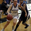 Beverly: Danvers' Katie McKenna drives right past a Winthrop defender on Thursday night. David Le/Salem News