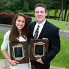 Peabody High School junior Catarina Rocha, and Hamilton-Wenham junior Trevor Lyons, are the 2011-2012 Moynihan Lumber Student Athletes of the Year. David Le/Staff Photo