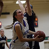 Beverly: Danvers' Katie McKenna goes in for a layup against Winthrop on Thursday night. David Le/Salem News