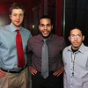 From left, Peter Lutts, Luis Delossantos, and Jose Gondazalez at Red Lulu for a Young Entrepreneurs seminar by the Enterprise Center David Le/Staff Photo