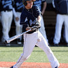Peabody's Stephen Gerolano lines a base hit against St. John's Prep on Tuesday afternoon. David Le/Staff Photo