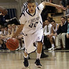 St. John's Prep freshman Marcos Echevarria (20) drives the lane against BC High on Friday night. David Le/Salem News