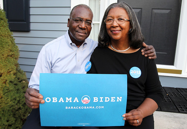Stella and Robert Pierce are heading to the Democratic National Convention on Saturday. Stella is the first African American delegate from the 6th district to go to the National Convention. David Le/Staff Photo