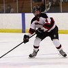 Marblehead's Eliza Quigley lines up a shot on net against Beverly. David Le/Salem News