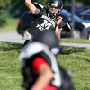 Marblehead senior quarterback Ian Maag looks to lead the Magicians in 2012. David Le/Staff Photo
