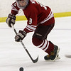 Gloucester's Casey Noyes (9) flies up ice with the puck against Beverly on Saturday. David Le/Salem News
