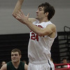 Marblehead's Phil Coughlin rises up for a jumper. David Le/Staff Photo