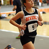 Beverly's Nicole Demars competes in the 2-mile race on Thursday. David Le/Salem News