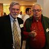 Stephen Clark, left, and Paul Redmond at the Salem Athenaeum Fundraiser held at the Adriatic Restaurant on Washington St. in Salem. David Le/Salem News