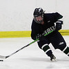 Pingree's Jillian Witwicki dangles with the puck in the offensive zone. David Le/Staff Photo