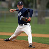 Danvers starting pitcher Scott Hovey delivers a pitch against Beverly on Thursday. David Le/Staff Photo