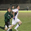 Danvers High School junior captain Eric Martin tracks down the ball while being pursued by a Pentucket defender. David Le/Salem News
