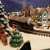 Marblehead: A part of the scenery in Stu Curtis' model train set which he donated to the Gerry 5 for Christmas time. David Le/Salem News
