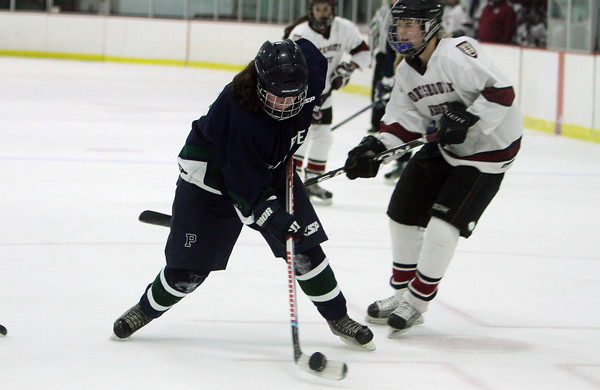 Pingree's Jillian Witwicki takes a shot on net on Friday night. David Le/Salem News
