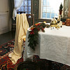 The dining room in the House of Seven Gables was decorated by  Alan Collachicco.<br /> Photo by Deborah Parker/December 4, 2009