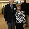Danvers: Ed and Rita Collins of Swampscott pose together while attending the Opening Celebration of the Mass General/North Shore Cancer Center Outpatient Care center in Danvers. Photo by Deborah Parker/May 14, 2009