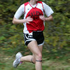 Salem's Nicole Maurice competes in yesterday's meet against Beverly at J.C. Phillips Nature Preserve in Beverly . Photo by Deborah Parker/October 27, 2009