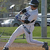 Danvers' DJ Yost bats against Saugus during Thursday's game held at Danvers High School. Photo by Deborah Parker/April 15, 2010