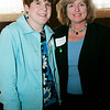"Danvers: Sara Barnum and Donna Musumeci both of Beverly pose together while attending the St. John's Annual Auction pose held at the Danversport Yacht Club. This year's auction, ""See Us Shine 2009"" helps to raise money for the school. Photo by Deborah Parker/Salem News Friday, March 27, 2009."
