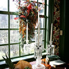 The Parlor in the House of Seven Gables was decorated by Lisa Greene of Nunan Florist and Greenhouses Inc.<br /> Photo by Deborah Parker/December 4, 2009