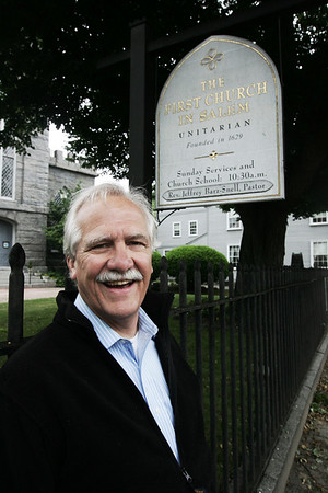 John Fogle is the new artistic director of Salem Theatre Company.  The company's next play will take place at the First Church on Essex Street in Salem. Photo by Deborah Parker/July 01, 2009