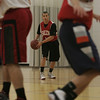 Salem Witches' Dario Medrano at practice Monday evening. Photo by deborah parker/december 6, 2010