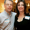 Beverly:Steven and Nicole DuFresne of Beverly pose together while attending Casino Night to to benefit Cove Elementary PTO held at the Vittori Rocci Post Friday evening. Photo by Deborah Parker/Salem News Friday March 6, 2009.