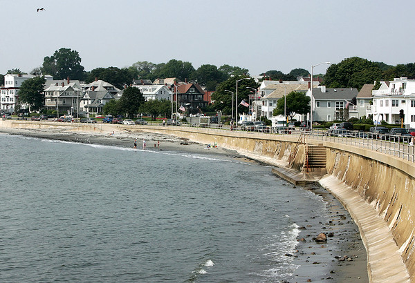 The Essex National Heritage Area has designated a route following Route 129 in Swampscott along the coast, to 114 in Marblhead, to 1A in Salem a scenice byway. Photo by Deborah Parker/August 5, 2009