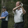 Giff Wigglesworth of Marblehead tees off during the Rae Trophy Ryder Cup held at the Wenham Country Club Friday. Photo by deborah parker/october 1, 2010