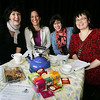 "The Marblehead Little Theatre is beginning a new program, ""Have You MLT(d) today?"" -- meant to increase membership through teas, book clubs, writing groups and talks. From left, Janet Sheehan, Susan Griffin, Shari Frost and Nora Falk. Photo by Deborah Parker/January 12, 2009"