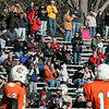 Beverly:Salem fans cheer on their team after scoring a touchdown against Beverly during Thursday's Thanksgiving Day game held at Hurd Stadium. Photo by Deborah Parker/Salem News Thursday, November 27, 2008.